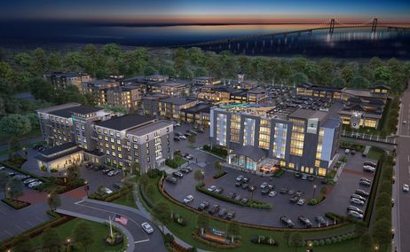 Plans Unveiled for $100M Development at Newport Grand Casino Property